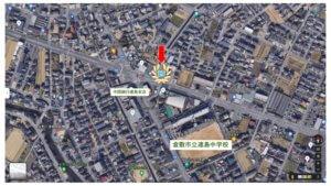 矢部歯科医院地図
